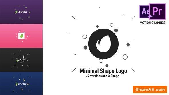 Videohive Minimal Shape Logo - Premiere Pro