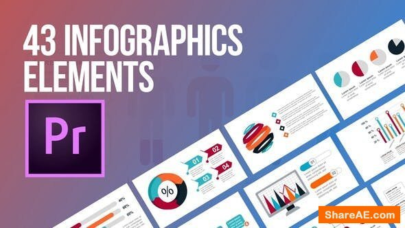 Videohive Infographics - 43 Elements » free after effects
