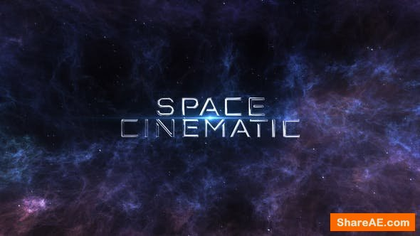 Videohive Space Cinematic Titles