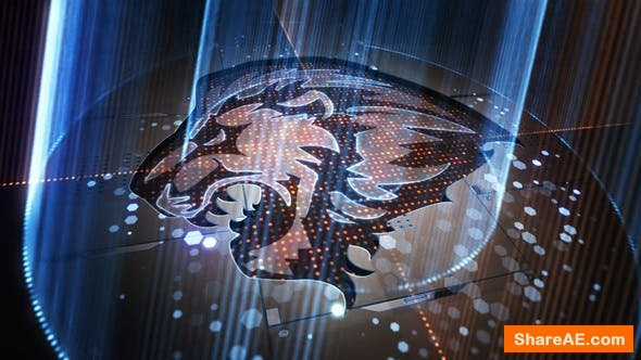 Videohive Light Rays Logo  24323281