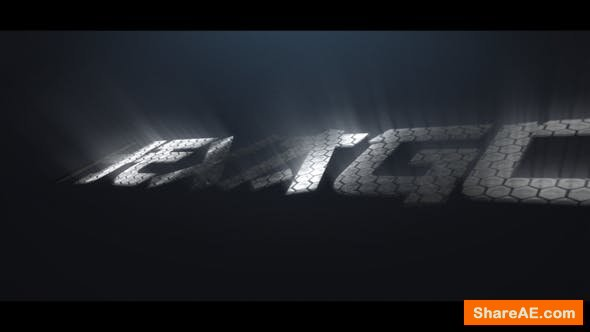 Videohive Hexagon Logo Reveal 22015257