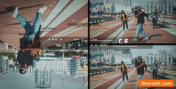 Videohive Imaginary Force // Urban Opener
