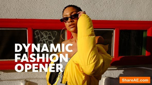 Videohive Fashion Opener 23165988
