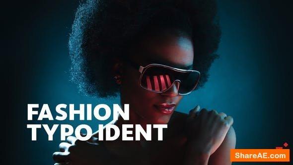 Videohive Fashion Ident // Typo Opener