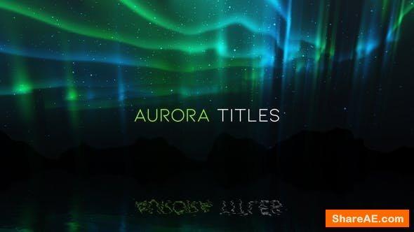 Videohive Aurora Titles