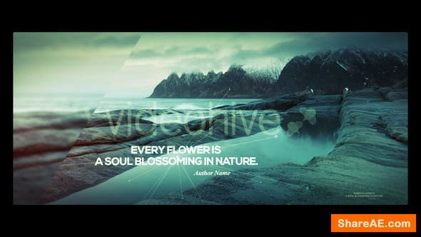 Videohive Nature and Quotes