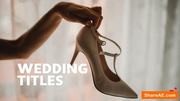 Videohive 50 Wedding Titles | Essential Graphics | Mogrt - Premiere Pro