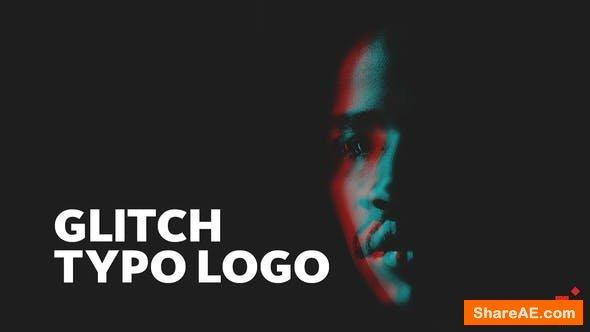 Videohive Glitch Typo Logo