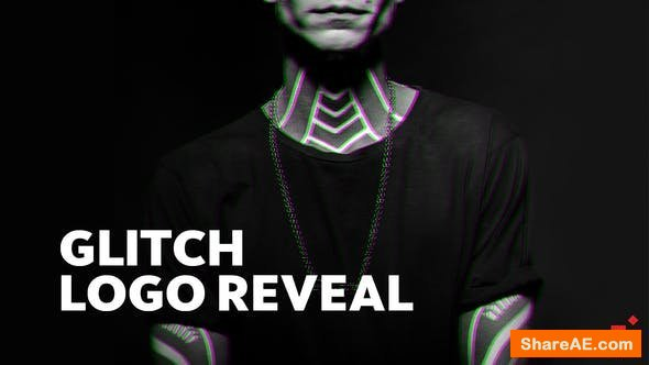 Videohive Bold Glitch // Logo Reveal
