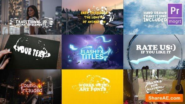 Videohive Cartoon Lyric Titles | Premiere Pro MOGRT
