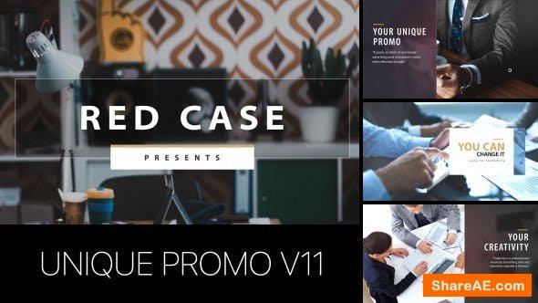 Videohive Unique Promo v11 | Corporate Presentation