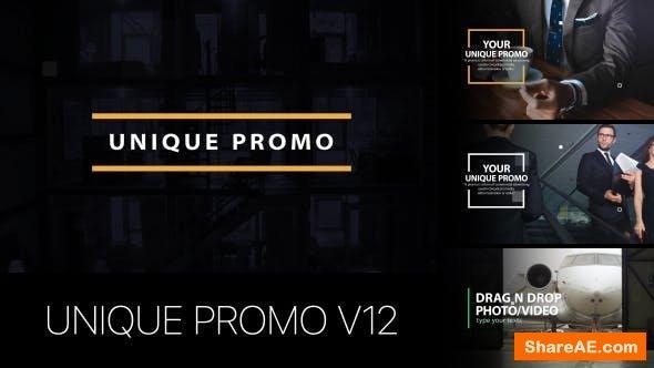 Videohive Unique Promo v12 | Corporate Presentation