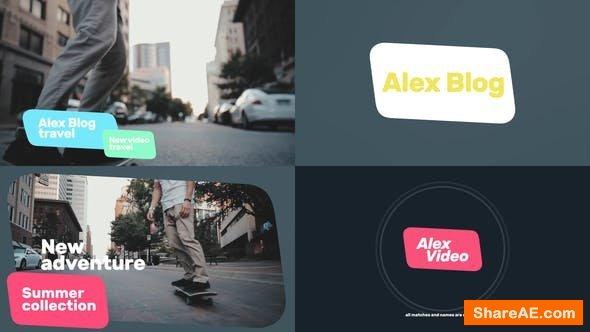 Videohive Video Channel Titles - Premiere Pro