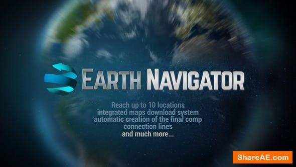 Videohive Earth Navigator