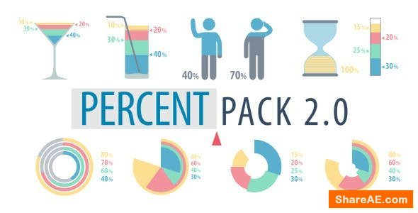 Videohive Percent Pack 2.0