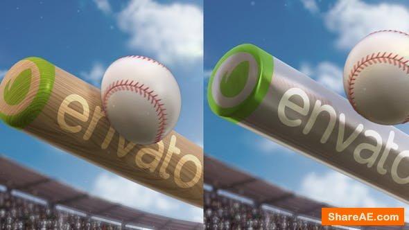 Videohive Baseball Logo Reveal