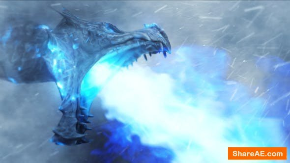 Videohive Ice Dragon   Frost Reveal