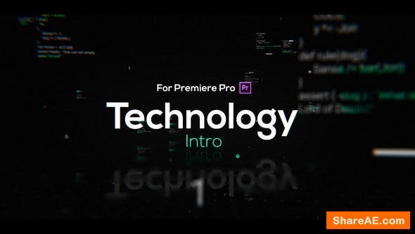 Videohive Technology Intro for Premiere Pro