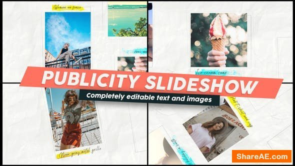 Videohive Publicity Slideshow