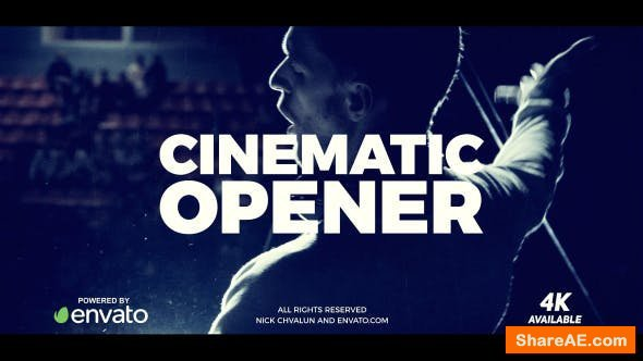 Videohive Cinematic Opener 21283425