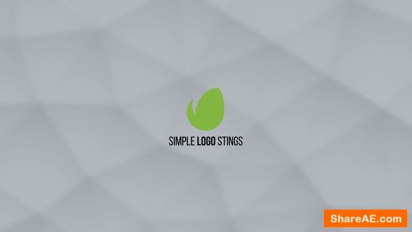 Videohive Simple Logo Stings