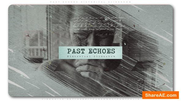 Videohive Past Echoes Historical Slideshow