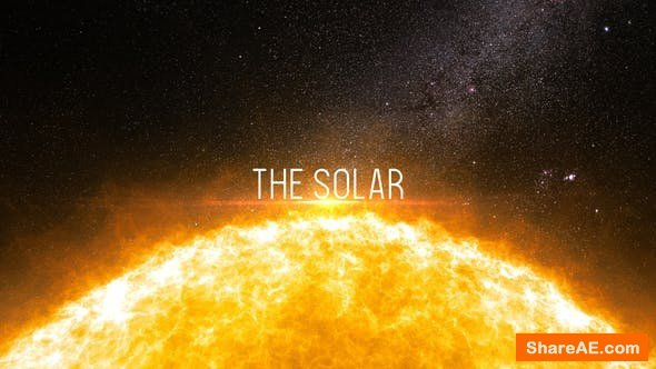 Videohive The Solar - Cinematic Trailer