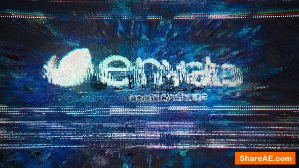 Videohive Glitch Distortion Logo