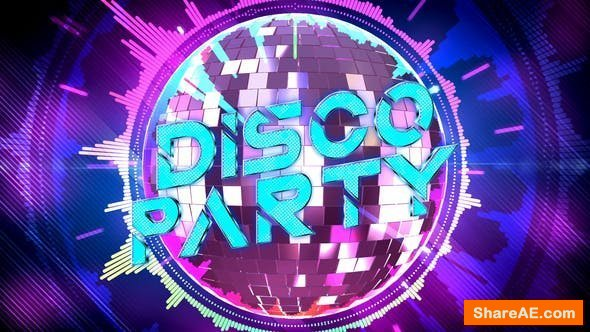 Videohive Disco Party Opener