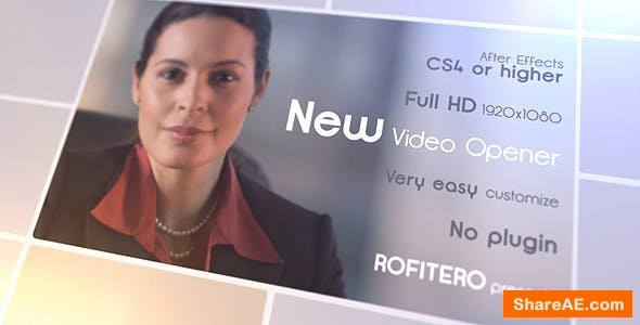Videohive New Video Opener