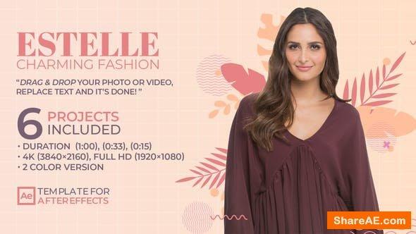 Videohive Estelle Charming Fashion - Stylish Clothing Sale