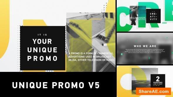 Videohive  Unique Promo v5 | Corporate Presentation