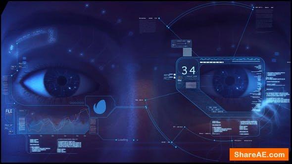 Videohive High Tech Logo V02 Eye Opener