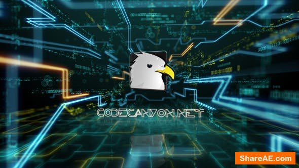 Videohive Hi-Tech Logo Reveal 15714571
