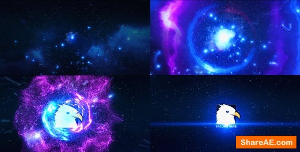 Videohive Space Explosion Logo Opener