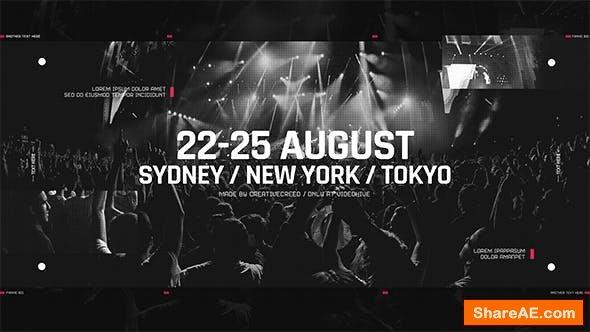 Videohive Music Event Promo / Party Invitation / EDM Festival / Night Club / DJ Performance