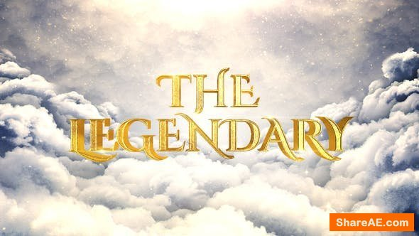 Videohive Legendary Cinematic Opener