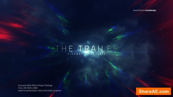 Videohive The Trailer Title