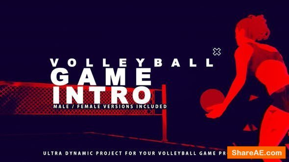 Videohive Volleyball Game Promo