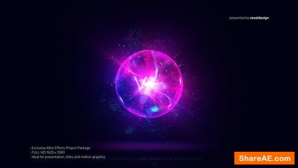 Videohive Magic Orb Logo Reveal