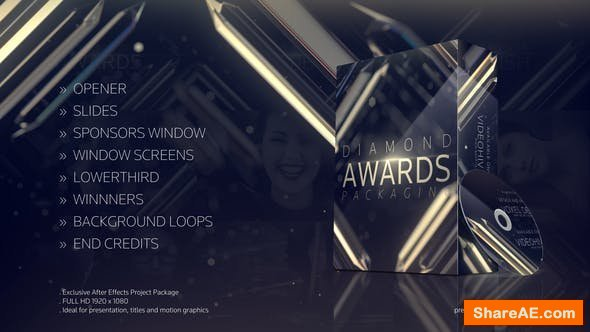 Videohive Diamond Awards Packaging