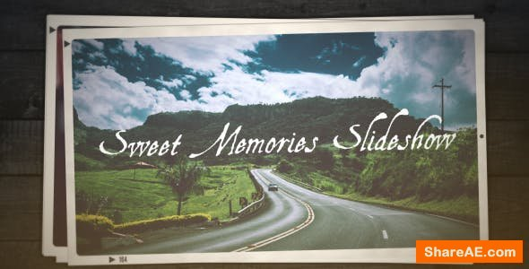 Videohive Sweet Memories Slideshow