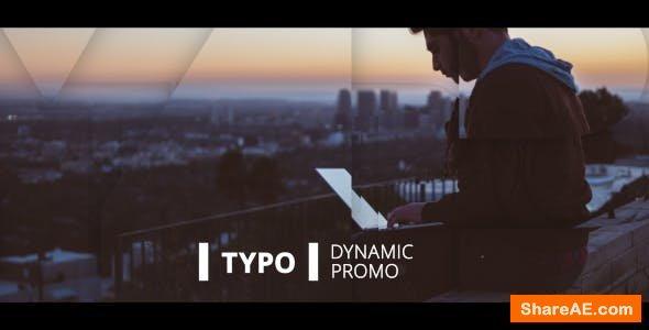 Videohive Dynamic Typo Promo