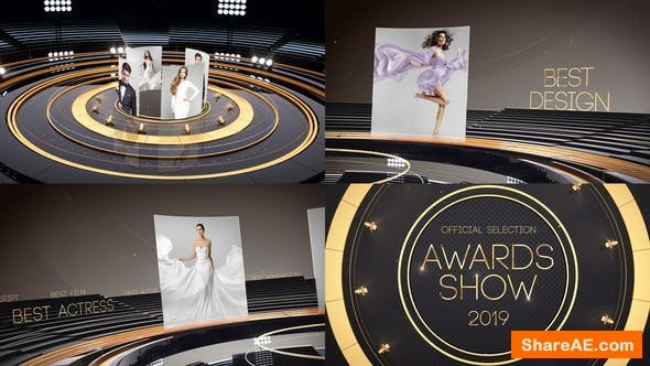 Videohive Golden Awards Promo 23060083