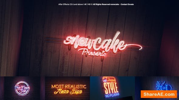 Videohive The Neon Sign