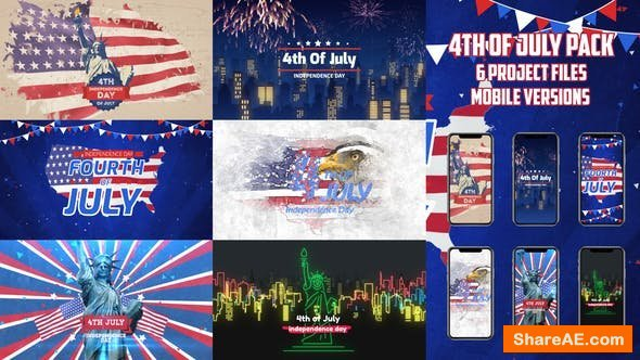 Videohive 4th of July Pack