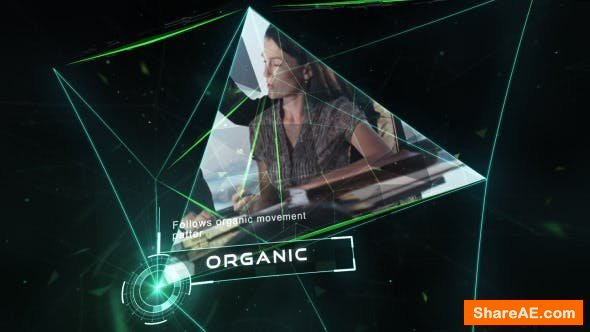 Videohive Organic Entry