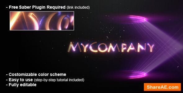 Videohive Lights Logo