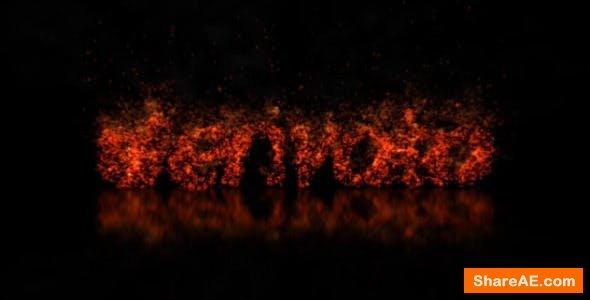 Videohive Fire Logo 3651847