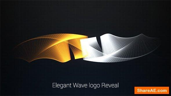 Videohive Elegant Wave Logo Reveal